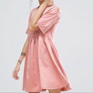 ASOS Satin Smock Dress